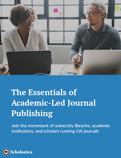 The Essentials of Academic-Led Journal Publishing cover
